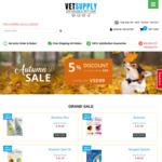 5% off via Website or 6% off via Mobile App @ Vet Supply