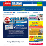 Win Up to $1,000,000 Cash from Chemist Warehouse
