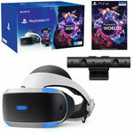 [PS4] PlayStation VR V2 with Camera & VR Worlds Bundle $368.01 Delivered @ The Gamesmen eBay