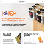 15% off on All Beers + $5 Shipping @ Only Craft Beer