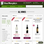 [VIC] Free 2-Hour on-Demand Delivery for Wine (Selected Metro Area) @ Dan Murphy's