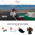 Up to 50% off Ducati Parts, Apparel and Accessories (e.g. boots from $160, Ducati Corse C4 $617) @ Fraser Motorcycles