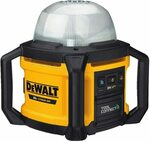 DEWALT 20V MAX LED Work Light, Tool Only (DCL074) (RRP $419) $277.07 + Delivery (Free with Prime) @ Amazon US via AU