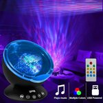 K KBAYBO Ocean Wave Projector Music Night Light $26.99 (Was $35.99) + Delivery ($0 with Prime / $39 Spend) @ K KBAYBO Amazon AU