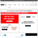 Further 20% off + Delivery (Free Delivery over $29) @ Bonds Outlet