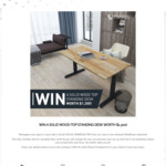 Win a $1300 Omnidesk from the Omnidesk.com.au