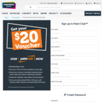 [VIC] Free $20 Voucher on Signup Redeemable in Selected Inspiration Paint Melbourne Stores Only