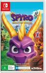 [Switch] Spyro Reignited Trilogy $24 Free Collect in Store or + $1.99 Shipping @ JB Hi-Fi