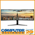 """Samsung 43"""" LC43J890DKEXXY Curved Monitor $1,039.20 Delivered @ Computer Alliance eBay"""