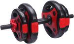 10KG Weight Dumbbells Set 4X Plates Home Gym Set $33 + Shipping or Sydney Pickup @ ejielie via eBay