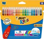 Bic Kids Felt Pens 18 Pack $1.87, Uhu Glu Stick Clear 40g Each $0.92, Woolworths Exercise/Grid Book $0.25 & More @ Woolworths