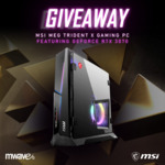 Win an MSI MEG Trident X Gaming PC Worth $3,999 from Mwave