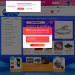 US$4 off US$5 Spend (for New Users Log in with Social Media Accounts) @ AliExpress