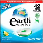 Earth Choice Dishwasher Tablets 42pk $6 ($0.142/Tablet) (RRP $16.20) @ The Reject Shop