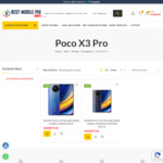 [Pre Order] Xiaomi POCO X3 Pro 6GB/128GB Global Version $475 + $19 Delivery @ Best Mobile Phone
