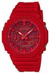 G-Shock GA-2100-4AER (Red) CasiOak $134.46 Delivered @ SurfStitch