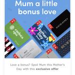 Buy $100 Prezzee Mother's Day Smart eGift Card and Get $10 BONUS Prezzee Smart eGift Card @ Prezzee