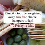 [VIC] Free Cheese Antipasto Hampers from 4pm Today (14/5) @ King & Godfree (Carlton)