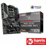 MSI MAG X570 Tomahawk Wi-Fi $289, MSI MAG B550 Tomahawk ATX $159, MSI MPG B550I Gaming Edge Wi-Fi Mini-ITX $235 @ HT eBay