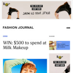 Win $500 Worth of Milk Makeup Products from Fashion Journal