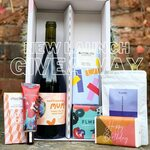 Win a Personalized Bottle of Wine, Bahen & Co Chocolate Bar, Candles, Soaps (Worth $100) from The Neighbours Cellar