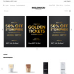 50% off Storewide + Free Shipping (Delayed Dispatch Available) @ Inglewood Coffee Roasters