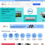 [Afterpay] $10 off Eligible Items ($20 Min Spend) with Afterpay on eBay