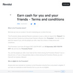 $25 Referral Bonus for Referrer and Referee (3x $10 Purchase by Referee Required) @ Revolut
