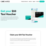[NSW] Free $50 Cab Rides to Vaccination Appointments @ Cabcharge