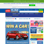 Win a Volkswagen Golf GTI (Worth $50,000) with eligible purchase of Unilever products from Chemist Warehouse or MyChemist