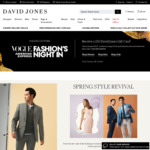 Spend $250 or More on Full-Priced Fashion, Shoes or Accessories & Receive A Bonus $50 Gift Card @ David Jones