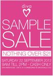 Diva Warehouse Sample Sale - 22 September - Everything $2 or Less - Brookvale, Sydney NSW