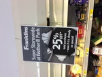 Franklins Wetherill Park NSW 25% off Everything Including Specials