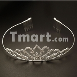 72% off Elegant Wedding Bridal Headband Crown-US $0.99 Delivered from Tmart