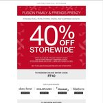 Diana Ferrari, Colorado, Williams, Mathers: Fusion Family & Friends Frenzy - 40% Off Storewide