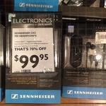 Sennheiser CXC 700 Noise Cancelling Earphones - $100 @ David Jones Chatswood
