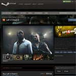 Left 4 Dead 2 STEAM $4.99 USD -75%