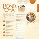 $0.00 Bondi Chai Latte Samples Delivered