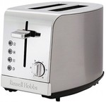 Russell Hobbs - Kitchen Metallics 2 Slice Toaster - Stainless Steel $34 down from $90 at H/N