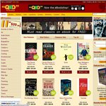 QBD The Bookshop 25 - 80% off ONLINE - for 1 Day Only! +Free Shipping!