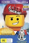 The Lego Movie 3D BR/2D BR/Ultraviolet with Vitruvius Minifigure $29.98 + $0.99 Post @ JB Hi-Fi