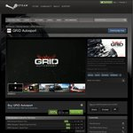GRID Autosport $25 USD on Steam and CodeMasters Deals