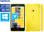 Nokia Lumia 625 Smartphone - Yellow- $149 Delivered (Using Code) @ COTD