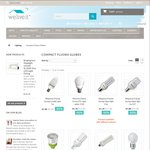 Below Cost Lighting Clearance -Top Brand LEDs   CFL Globes up to 90% off, from $1 @ Weliveit