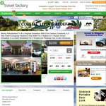 Hotel Kurrajong Canberra: $299, 2 Nights Classic Room + Breakfast+Parking+More Norm $750, Save $451 via Travel Factory