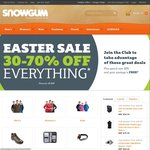 Snowgum $50 off When You Spend $299 or More + Free Keyring Torch