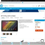 HP 10 Plus 2201ra Tablet $169.15 Delivered @ HP Australia Store