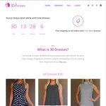 25% off All Dresses for Opening Week @ 30Dresses.com.au