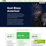 PrivateInternetAccess 2-Years PIA VPN Service for $59.95 US