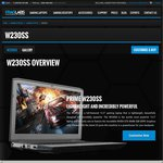 Clevo W230SS - 3200x1800 - 250GB mSATA SSD - i7-4710MQ - GTX860M $1299 @ FRAGLABS